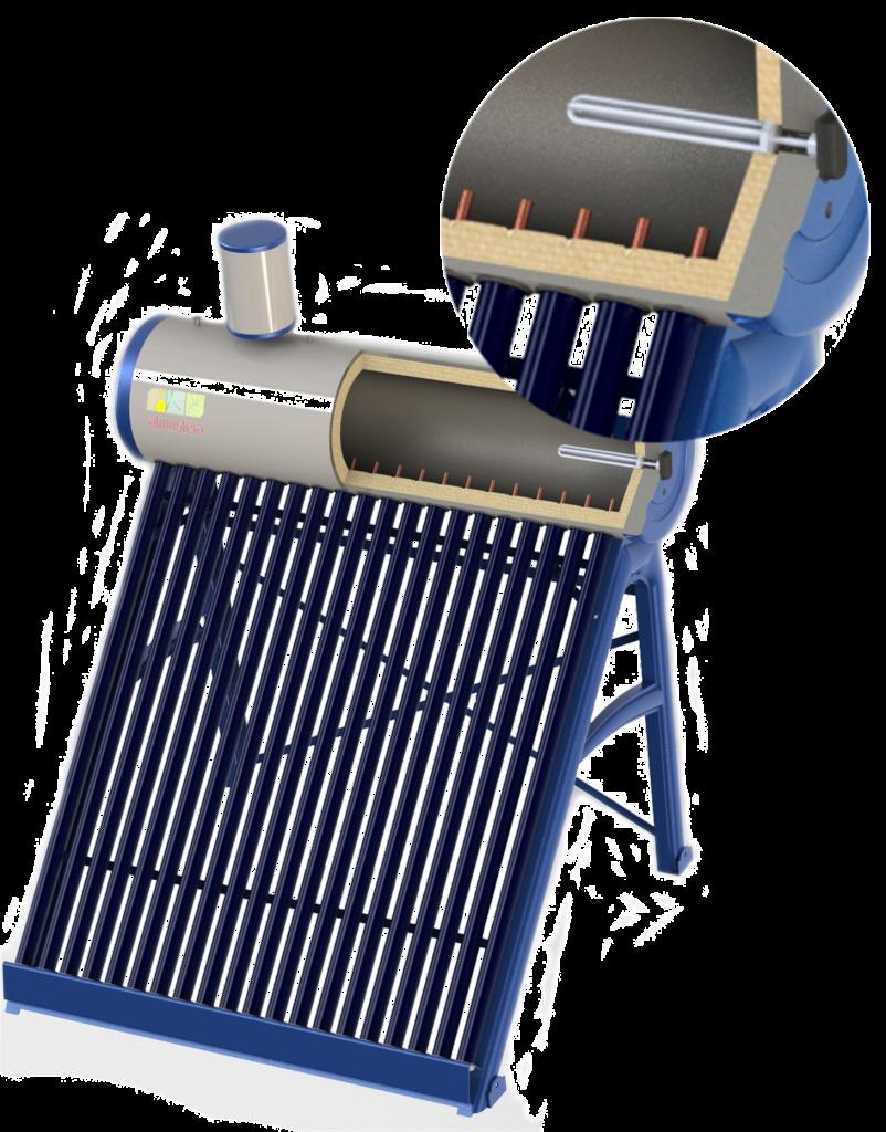 Атмосфера-RPB система под давлением с трубками Heatpipe